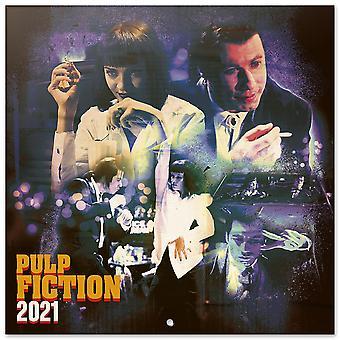 Pulp Fiction Kalender 2021 Officiële kalender 2021, 16 maanden, originele Engelse versie.