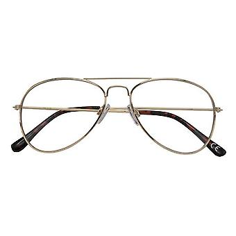 Óculos de leitura Ouro/preto Ann feminino +3.00