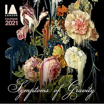 IA London  Symptoms of Gravity Wall Calendar 2021 Art Calendar by Created by Flame Tree Studio