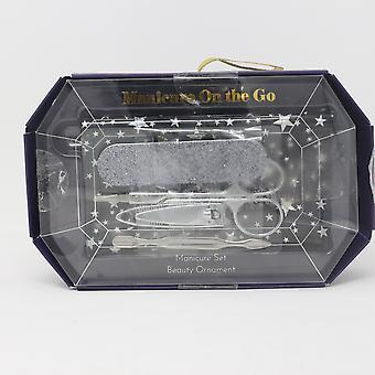 Twelve Nyc Manicure On The Go Manicure Set  / Damaged Box