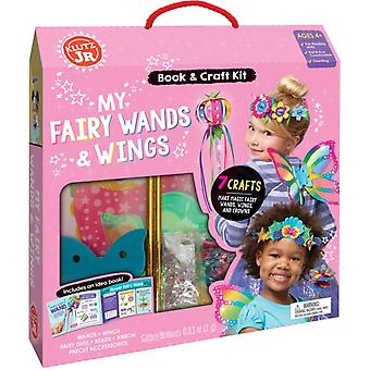 My Fairy Wands  Wings by Editors of Klutz