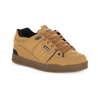 Globe fusion golden brown skate shoes