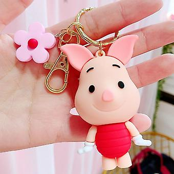 Disney Mickey Keychains Cute Cartoon Baby Key Ring, Vrouwen Lovely Bag Chain