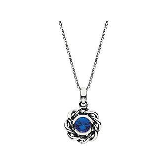Erfgoed Mystic Birthstone September Sapphire Ketting 9234SEP024