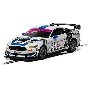 Scalextric Ford Mustang GT4 - British GT 2019 - Multimatic Motors