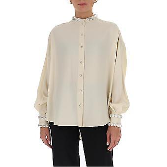 Amen Couture Acw20212081 Women's White Acetate Shirt