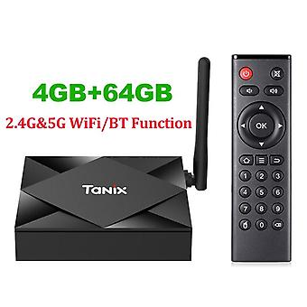 Tx6s Tv Box Android 10 Smart Allwinner H616 Quad Core Box H.265 4k Media Player