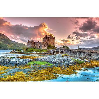 Wandbild Eilean Donan Castle