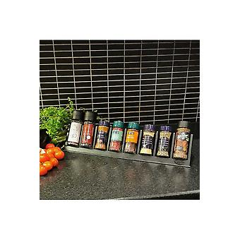 Black Spice Organizer That Gives Order In The Kitchen
