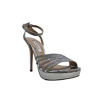 Nina Womens Starla-YG Open Toe Formal Ankle Strap Sandálias