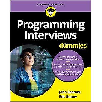 Programmering interviews voor dummies