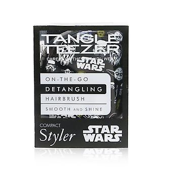 Compact styler on the go detangling hair brush # star wars multi character 256495 1pc