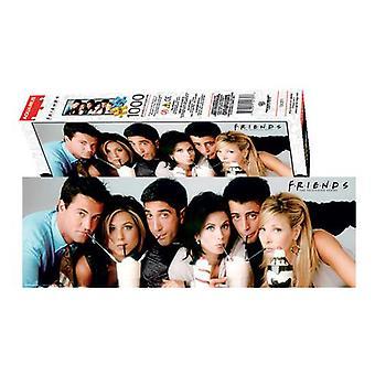 Friends - milkshake 1000pc slim puzzle