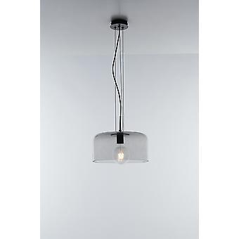 Fan Europe Luce_Ambiente_Design - Glass Dome Plafondhanger, Grijs, E27