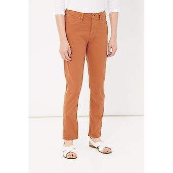 Orange Jeans Please Woman
