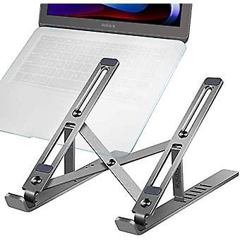 Taitettava kannettavan tietokoneen jalusta Säädettävä Kannettava kannettava kannettava tabletti