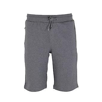Emporio Armani Mid Grey Marl Cotton Blend Sweat Shorts