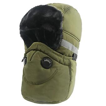 Winter Warme Oorflap Bomber Hats Sjaal/vrouwen - Russische Trapper Thermal Face