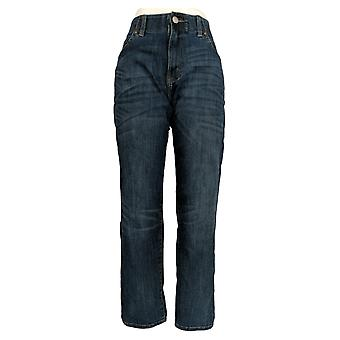 Lee Men's Straight Jeans 34x30 Extreme Motion Pocketed Blue