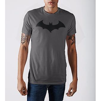 Batman lepakko lentää hiili t-paita