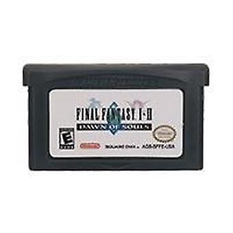 32 Bit Video Game Cartridge Console Card, Final Fantas Series