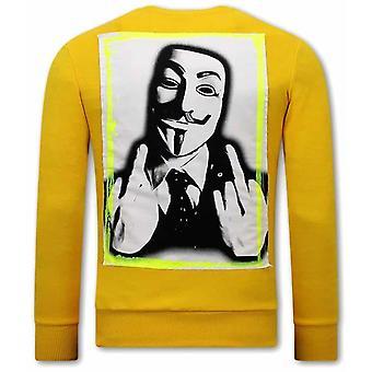 Anonymous Sweater - Yellow