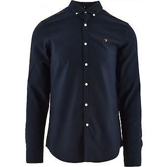 Farah Navy Brewer Shirt