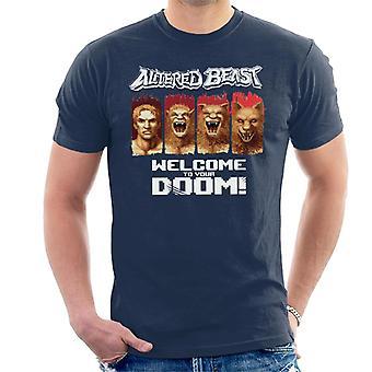 Sega Altered Beast Welcome To Your Doom Men's T-Shirt