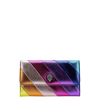 Kurt Geiger Kga254836910969 Women's Multicolor Leather Clutch