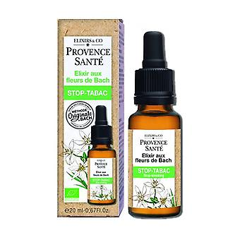 Organic tobacco stopper 20 ml of floral elixir