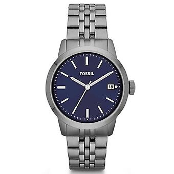 Fossil Men's Classic FS4819 Silver Dial Watch