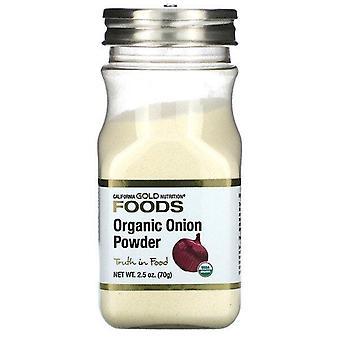 California Gold Nutrition, Organic Onion Powder, 2.5 oz (70 g)