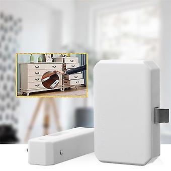 Home Kantoor Inductie Deurslot Ladekast Anti-Diefstal Secrect Beveiliging Smart Lock