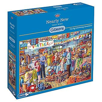 Gibsons 1000 Piece Nearly New Jigsaw Puzzle