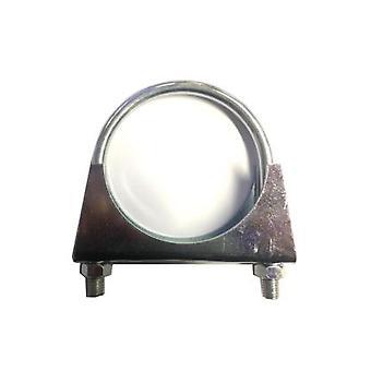 Universal Exhaust Pipe Clamp - U-bolt - 89 Mm - Bzp Mild Steel