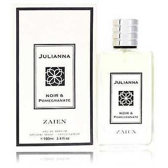 Julianna Noir & Pomegranate By Zaien Eau De Parfum Spray (unisex) 3.4 Oz (women) V728-553441