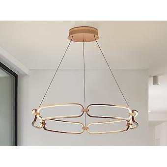 Schuller Colette - Luce pendente a LED integrata, oro rosa