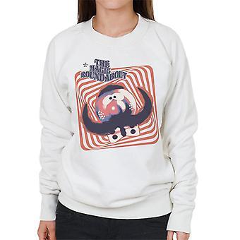 The Magic Roundabout Zebedee Psychedelic Lines Women's Sweatshirt