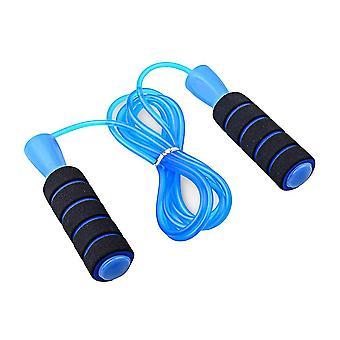 Corda da salto, corda da salto regolabile con maniglie memory foam per l'allenamento