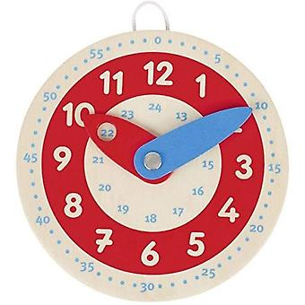 Goki 58485 Clock, Learn to Tell The Time, Mixed