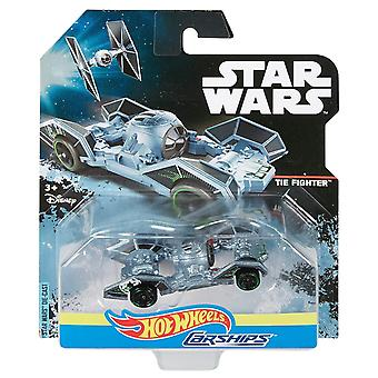 Hot wheels star wars tie fighter carship