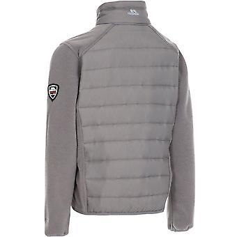 Trespass Unisex Kids Ludvig Outdoor Walking Hiking Fleece Jacket - Storm Grey