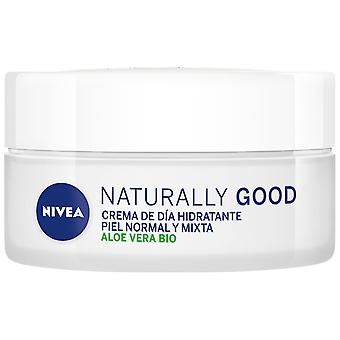 Nivea Crema hidratante de día Naturally Good 50 ml