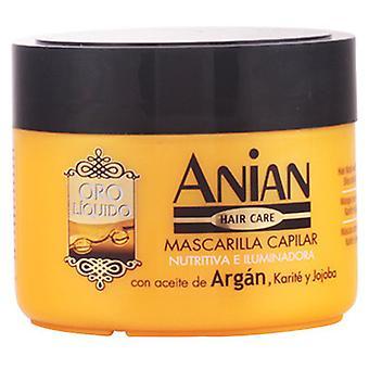 Anian Oro Líquido Mascarilla con Aceite de Argán 250 ml
