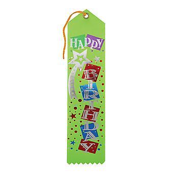 Cinta de premio feliz cumpleaños (paquete de 6)