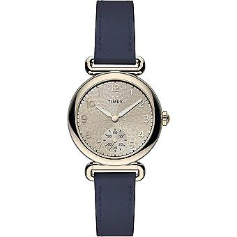 Timex Model 23 Rose Gold-Tone Leather Ladies Watch TW2T88200