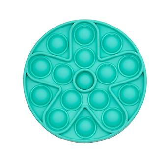 Pop It Fidget Toy for Relaxation Green