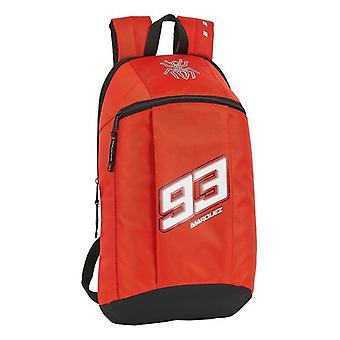 Casual Backpack Marc Marquez Black Red