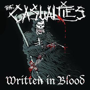 Casualties - Skriven i blod [Vinyl] USA import