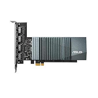 Asus GT710, 2GB DDR5, PCIe2, 4 x HDMI, zegar 954MHz